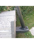 EasyBallast - base zavorrabile per pali vele ombreggianti